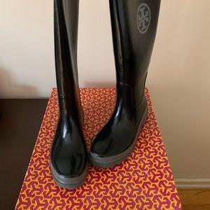 Tory Burch rain boots!